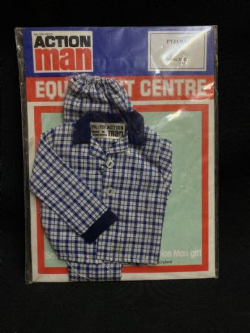 VINTAGE ACTION MAN -  EQUIPMENT CENTRE - PYJAMAS Mint Carded (ref2) (1)
